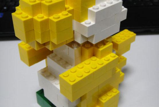 レゴでヨッシー作ってみた
