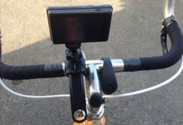 自転車の走行映像撮りたいのでカメラマウント買ってみた。