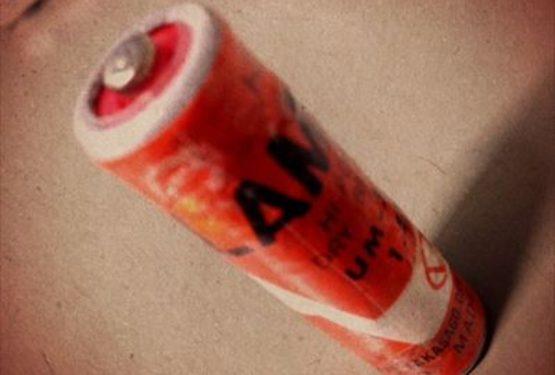 古い乾電池