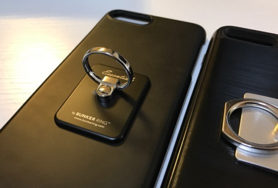 iPhone7plusがデカすぎるのでBUNKER RING Essentialsを購入