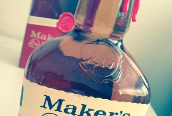 メーカーズマークのハーフボトルを発見!