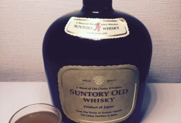 棚からSUNTORY OLD WHISKY