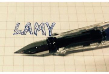 デザインに惚れた。ラミーの万年筆 SAFARI スケルトン
