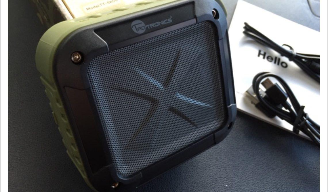 TaoTronicsのポータブルワイヤレススピーカー TT-SK08
